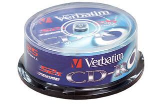 Диск Verbatim CD-R 700 Mb