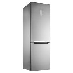 Холодильник с морозильником Samsung RB33J3420SA/WT серебристый