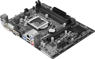 Плата Asrock H81M-DGS R2.0 Socket-1150 Intel H81 DDR3 mATX AC`97 6ch(5.1) GbLAN SATA3 VGA+DVI