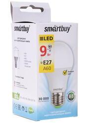 Лампа светодиодная Smartbuy SBL-A60-09-30K-E27-N
