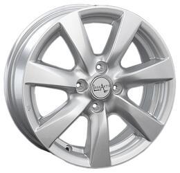 Автомобильный диск Литой LegeArtis KI76 5,5x14 4/100 ET 46 DIA 54,1 Sil