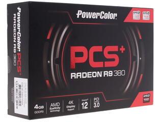 Видеокарта PowerColor AMD Radeon R9 380 PCS+ [AXR9 380 4GBD5-PPDHE]