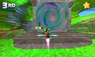 Игра для 3DS Sonic & All Stars Racing Transformed