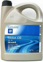 Моторное масло GM Dexos2 5W30 1942003