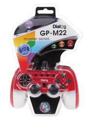Геймпад Dialog GP-M22 красный