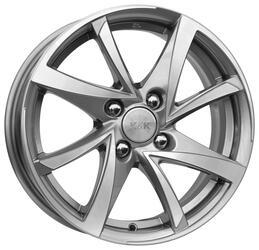 Автомобильный диск Литой K&K Игуана 6,5x16 5/105 ET 39 DIA 56,6 Алмаз аргентум