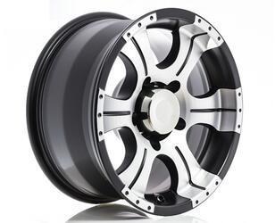 Автомобильный диск литой K&K Байконур 7x15 6/139,7 ET 20 DIA 110,1 Алмаз МЭТ