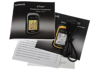 GPS\ГЛОНАСС Навигатор туристический Garmin e-Trex 10