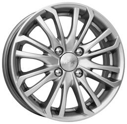 Автомобильный диск Литой K&K Римэкс 5,5x14 4/100 ET 35 DIA 67,1 Блэк платинум