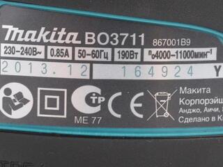 Виброшлифмашина Makita BO3711