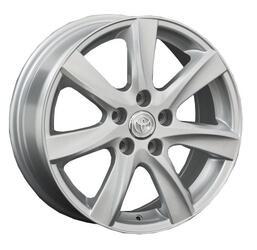 Автомобильный диск литой Replay TY31 7x17 5/114,3 ET 33 DIA 57,1 Sil