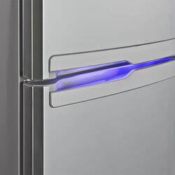 Холодильник с морозильником Samsung RL52TEBSL1/BWT серебристый