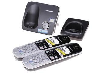 Телефон беспроводной (DECT) Panasonic KX-TG6812RUB