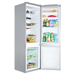 Холодильник с морозильником Gorenje RKV 42200 E серебристый