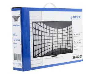 "22"" (55 см)  LED-телевизор DEXP 22A7200 белый"
