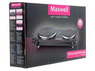 Плитка электрическая Maxwell MW-1901 черный