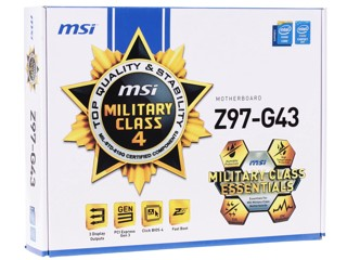 Материнская плата MSI Z97-G43