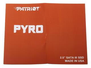 240 ГБ SSD-накопитель Patriot Pyro [PP240GS25SSDR]