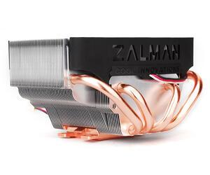 Кулер Zalman 8000А/T+ OEM (Al+Cu+трубки, Low Profile,18-30 дБ, 1400-2600 об/мин) Socket-775/754/939/940/1156/1366