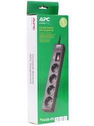Сетевой фильтр APC P43B-RS черный