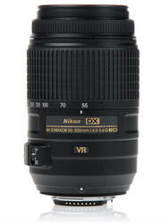 Объектив Nikon AF-S DX 55-300mm F4.5-5.6 G ED VR Nikkor