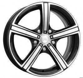 Автомобильный диск Литой K&K Спринт 6,5x15 4/100 ET 48 DIA 54,1 Алмаз черный