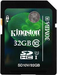 Карта памяти Kingston SD10V/32GB SDHC 32 Гб