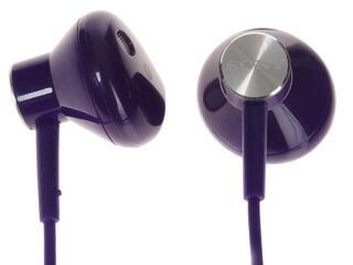 Гарнитура проводная Sony STH30 фиолетовый