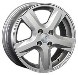 Автомобильный диск литой Replay KI114 6x15 4/100 ET 48 DIA 54,1 Sil