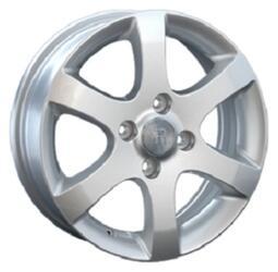 Автомобильный диск литой Replay GN33 6x16 4/114,3 ET 49 DIA 56,6 Sil