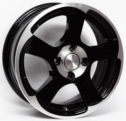 Автомобильный диск литой Скад Акула 6x16 5/112 ET 38 DIA 67,1 Алмаз