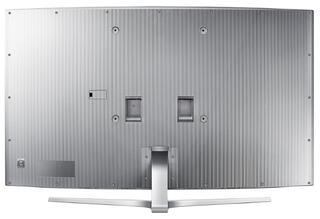 "65"" (165 см)  LED-телевизор Samsung UE65JS9000 серебристый"