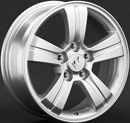 Автомобильный диск литой Replay RN68 6,5x16 5/100 ET 45 DIA 60,1 Sil