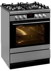 Газовая плита Hansa FCMI68064055 серебристый, черный