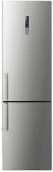 Холодильник с морозильником Samsung RL50RECTS1 серебристый