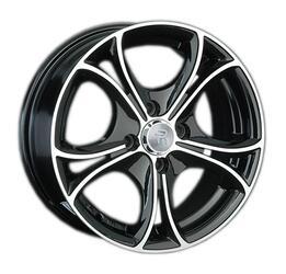 Автомобильный диск литой LS 393 7x16 5/105 ET 36 DIA 56,6 BKF