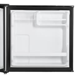 Холодильник SHIVAKI SHRF-54CHS серебристый, чёрный