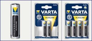 """Батарейка """"AA"""" Varta Photo 1.5V [LR6 Alkaline 4206] 4шт."""