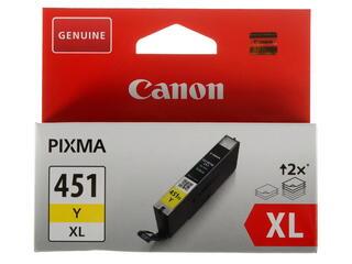 Картридж струйный Canon CLI-451Y XL