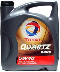 Моторное масло TOTAL QUARTZ 9000 5W40 148597