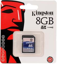 Карта памяти Kingston SD4/8GB SDHC 8 Гб