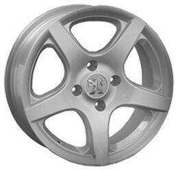 Автомобильный диск Литой LegeArtis PG25 6,5x15 4/108 ET 27 DIA 65,1 Sil