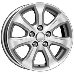 Автомобильный диск Литой K&K КС509 6,5x16 6/114,3 ET 45 DIA 60,1 Сильвер