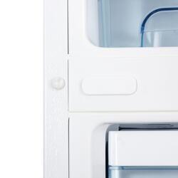 Холодильник с морозильником Daewoo Electronics FR417W белый