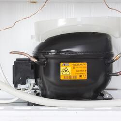 Холодильник с морозильником Indesit BIA 16 T коричневый