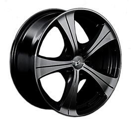 Автомобильный диск литой LS 202 6x14 4/98 ET 35 DIA 58,6 BKF