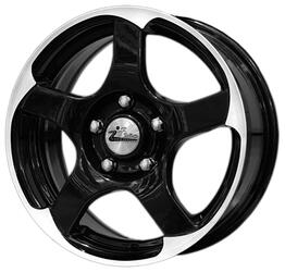 Автомобильный диск литой iFree Коперник 6,5x15 5/108 ET 38 DIA 67,1 Блэк Джек