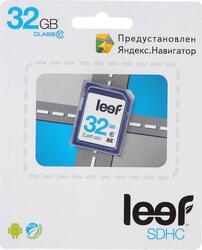 Карта памяти Leef Yandex SDHC 32 Гб