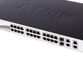 Коммутатор D-Link DES-1210-28P WEB Smart III