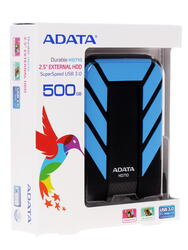 "2.5"" Внешний HDD A-Data [AHD710-500GU3-CBL]"